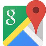 GoogleMapをWebページに載せる方法。